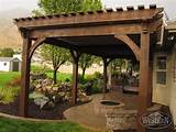 Gas Grill Under Covered Patio