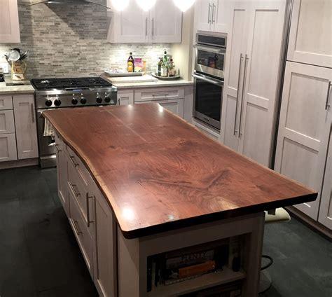 live edge wood countertops custom