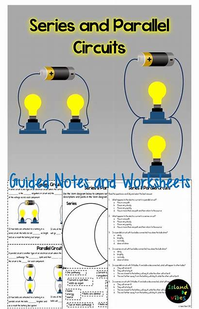 Parallel Series Circuits Electricity Circuit Grade 5th