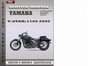 Yamaha V-star-1100 2005 Factory Service Repair Manual Download