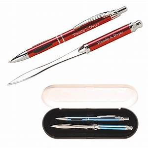promotional vienna pen and letter opener gift set With pen letter opener gift sets