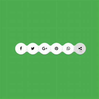 Social Icons Gooey Effect Coding Master Fribly