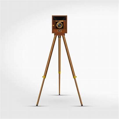 Camera Tripod Vector Equipment 3d Photographic Clip
