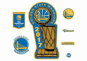 Golden State Warriors 2017 Champions Logo Wall Decal ...