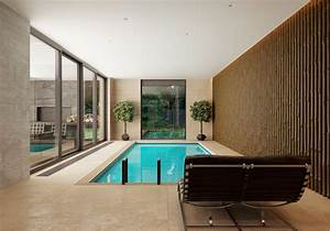 Modern house interior design ideas with elegant indoor for Interior design bedroom with pool