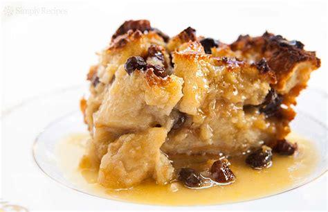 bread pudding recipe  video simplyrecipescom