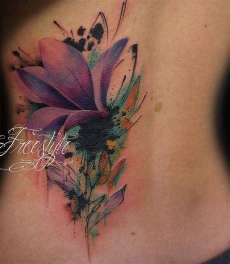 Exotic Flowers Tattoos