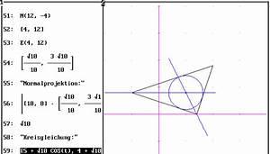Schwerpunkt Berechnen Dreieck : die 4 merkw rdigen punkte im dreieck ~ Themetempest.com Abrechnung