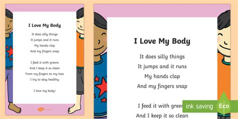love  body poem teacher