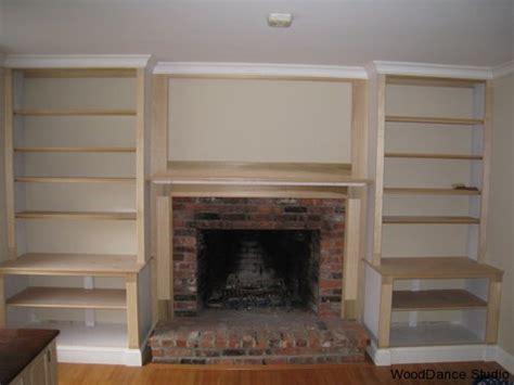 Built In Bookshelves Plans Around Fireplace » Woodworktips
