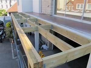 terrasses en bois etanche sur pilotis With plan d une terrasse en bois sur pilotis