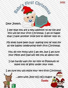 Babies 1st christmas oh the weather outside is frightful for Baby s 1st christmas santa letter