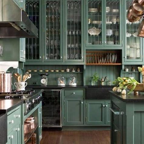 Teal Green Kitchen Cabinets by Teal Kitchen Home Kitchens