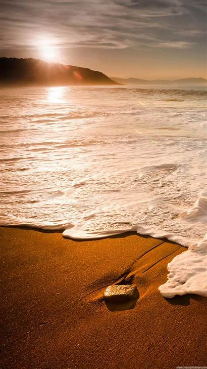 Iphone Beach Sunset Plus Wave Nature Waves