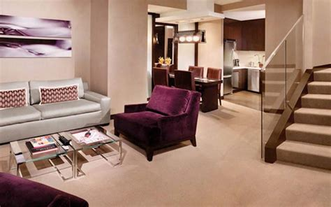 bedroom vdara two bedroom penthouse suite imposing on