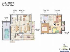 Maison Moderne Toit Plat : plan maison contemporaine bois toit plat ~ Nature-et-papiers.com Idées de Décoration