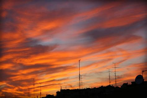 summer afternoon sky madrid spain juan antonio segal