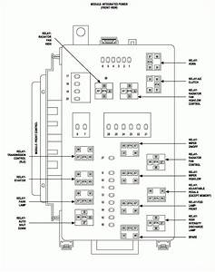 2007 Dodge Charger 5 7 Fuse Layout Diagram