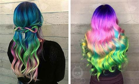 colorful hair   inspire   dye job stayglam