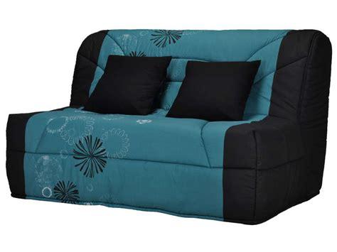 housse canapé clic clac but housse pour bz prima 140 cm prima maori coloris bleu