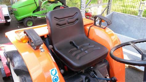 siege pour micro tracteur kubota si 232 ge tinchebray motoculture