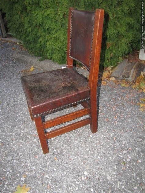 early antique gustav stickley chair  joenevo