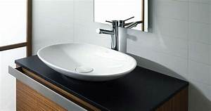 lavabo salle de bain moderne et design porcelanosa photo With lavabo encastrable salle de bain