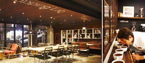 finsbury sofas  cafe lusso seoul korea interior