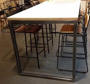 Pied De Table En Acier : 1000 images about pieds de table en acier brut on ~ Teatrodelosmanantiales.com Idées de Décoration