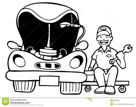 fix clipart black and white car repair free clipart clipart suggest
