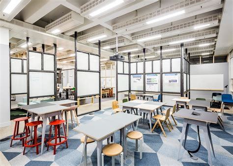 designs raw collaborative office space