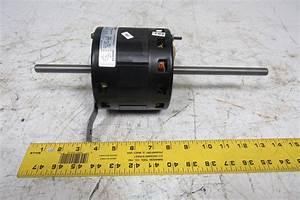 Ao Smith F42e85a61 Electric Motor 1  4 Hp 1ph 1650rpm 3 Speed 115v Hvac Ac