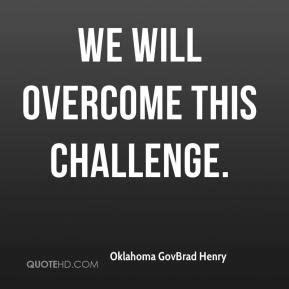 Will Overcome Quotes