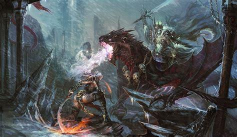 images world of warcraft dragons warriors fantasy games battles