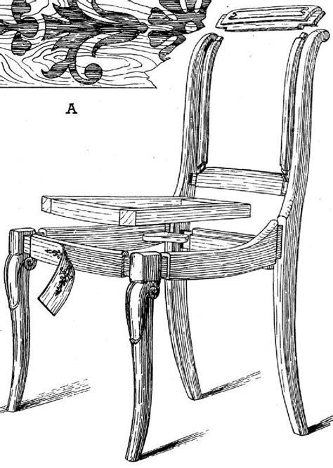 philippe de la chaise le plan et la description d 39 une chaise louis philippe