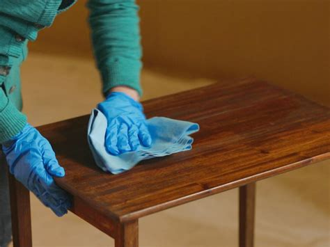 how to sand and stain wood furniture how tos diy