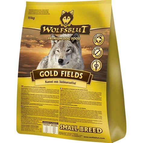 wolfsblut gold fields small breed fuer kleine rassen von
