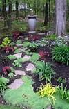 Shade garden path style | Sacred Backyard Retreats/Zen shade garden path ideas