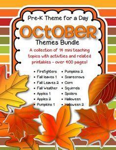 october preschool themes on preschool binder 559 | e5cbb92d6230e1f02c3079a59f610c7e