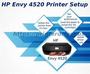 Hp Envy 4520 Printer Setup Guide