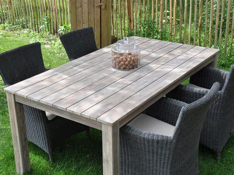 Salon de jardin en bois u0026quot;Cosmosu0026quot; - 1 table + 4 fauteuils 55714