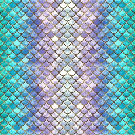 Mermaid Scales Background Pretty Mermaid Scales Duvet Cover Pretty Pieces
