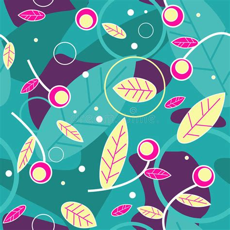 Beautiful floral texture stock vector Illustration of