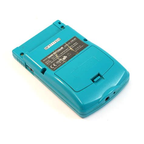ebay gameboy color gameboy color console turquoise blue teal boxed