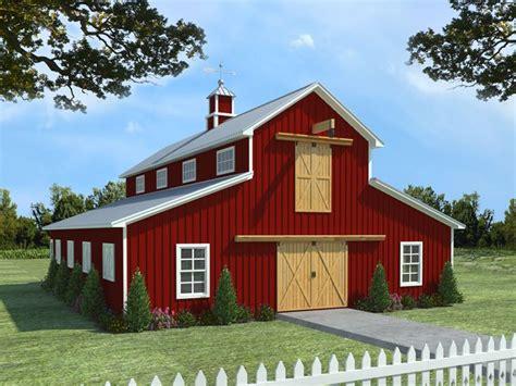 barn plans horse barn plan  living quarters