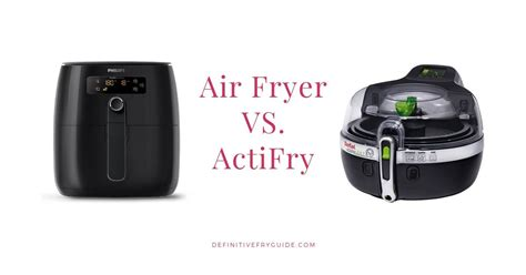 fryer air vs actifry