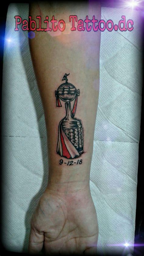 Tatuajes de futbol copa libertadores Tatuajes river