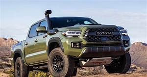 2020 Toyota Tacoma Boasts New Look  Smarter Tech Features