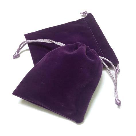 velvet pouch jewelry bag floss pouch dice bag satin pouch