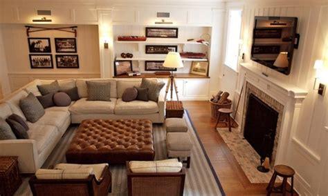 Furniture Layout Ideas Basement Family Room Ideas